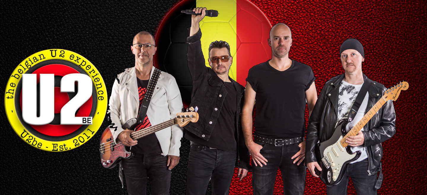 Tribute to the Belgian national football team by U2be