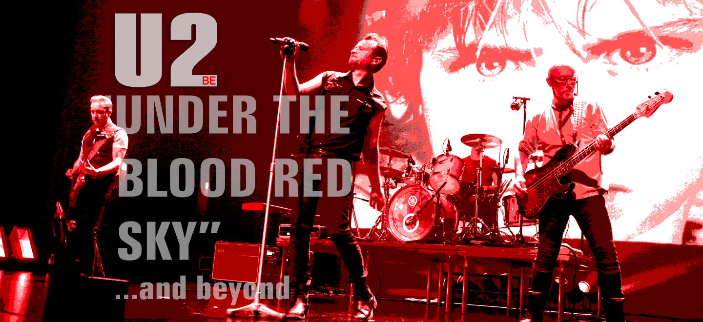 Nieuwe video uit onze 'Under the blood red sky and beyond' theatertour
